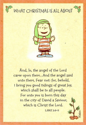 Linus Charlie Brown Christmas Quote