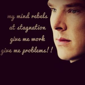 Benedict Cumberbatch Sherlock Holmes Quotes