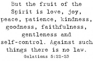 Patience Bible Lesson for Children (Fruit of the Spirit)