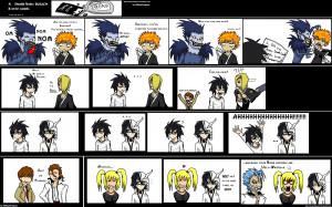 Death Note death note+ bleach comic
