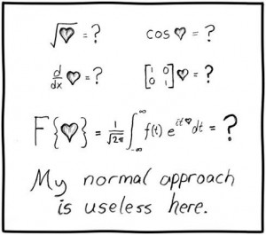 cute geeky love quote maths love math quotes