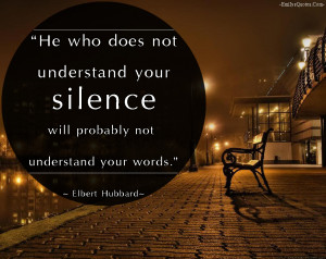 Silence Quotes HD Wallpaper 8
