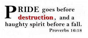 pride prayer for humility pride and beauty a snare signs of pride ...