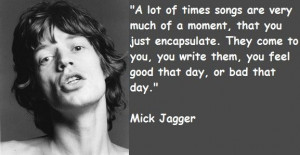 Mick jagger quotes 1