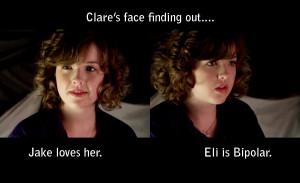 Degrassi Eli and Clare Quotes