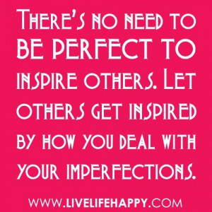 Try to INSPIRE others.....