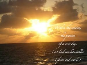 morning sunrise quotes