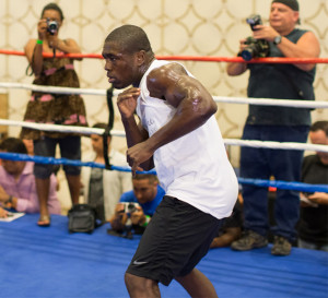 Andre Berto Los Angeles Workout Quotes