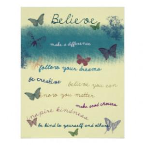 Inspirational Sayings Print