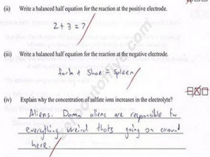funny math test answer7 Funny answers and logics of Math
