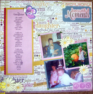 Father Daughter Quotes For Scrapbooking Daughter scrapbook quotes ...