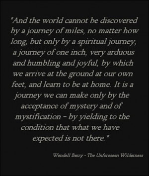 wendell berry love quotes