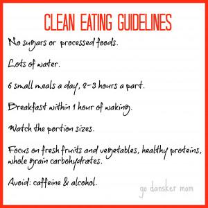 Clean Eating Challenge: Kick Off