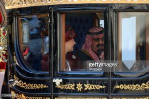 king abdullah of saudi arabia state visit news photo