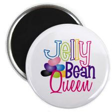 Jelly Bean Queen Magnets for