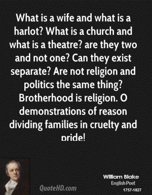What is a wife and what is a harlot? What is a church and what is a ...