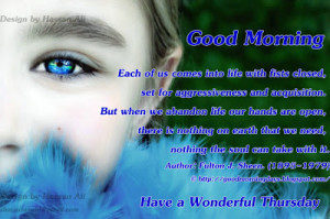 Good Morning Friends.. Inspiring Quotes for 18-03-2010
