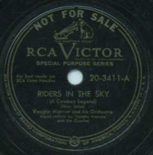 Vaughn monroe 78 riders in the sky story behind riders in the sky rca