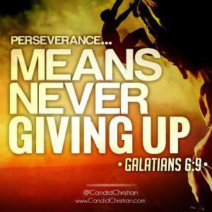 Home Bible Perseverance Means Never Giving Up