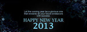New Year Quotes Images Facebook Cover