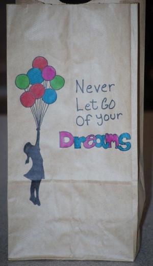Paper Bag Art - Lunch Art