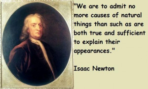 Isaac newton famous quotes 2