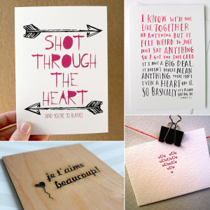 Funny and Sweet Handmade Valentine's Day Cards