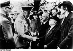 Frick meeting Sudeten Germans, Sudetenland, Czechoslovakia, 23 Sep ...