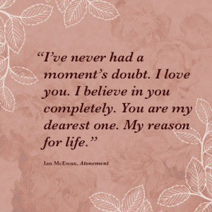 ... some of the most romantic lines in literature within their pages