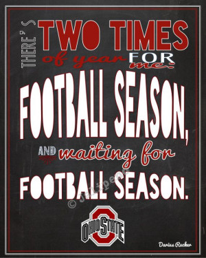 Ohio State Buckeyes Football Season Darius Rucker Quote INSTANT ...