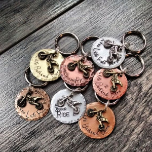 Dirt bike/Motocross Keychain Quotes & Personalized by ...