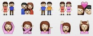 Gay and Lesbian Emojis