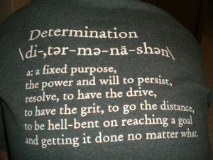 The difference between motivation and determination