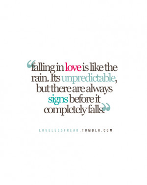 like the quotes love quotes graphics falling in love quotes signs of ...