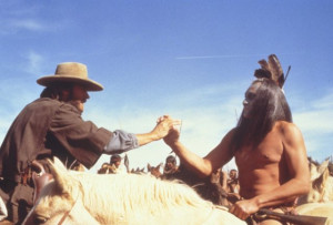 ... of Clint Eastwood and Will Sampson in The Outlaw Josey Wales (1976