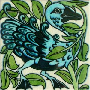 William De Morgan Fantastic Bird 2 East
