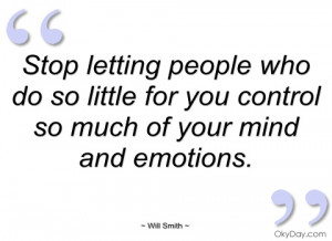 stop letting people who do so little for will smith