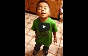 Toddler argues with mother over cupcakes 'Listen listen listen Linda