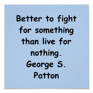 ... george patton united staes army military west point war quote