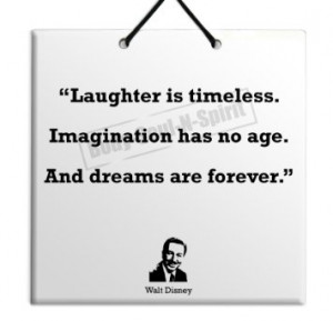 Walt Disney Quote Ceramic Wall Hanging Plaque TILE Home Decor Gift ...