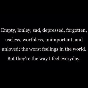feeling empty quotes