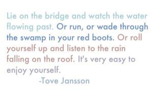 Tove Jansson quote