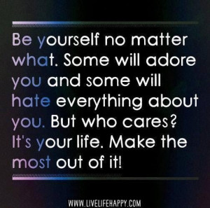 Cute quotes awesome sayings be yourself