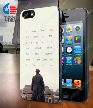 Sherlock Benedict Cumberbatch Quote Case for iPhone 4/4S, 5/5S, and ...
