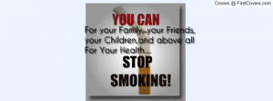 Quit Smoking Motivation Profile Facebook Covers