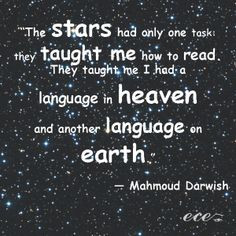 ... Quotes by Middle Eastern Poets to Live by in 2014 - Mahmoud Darwish