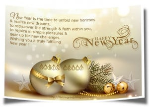 New Year's Blessings Quotes | ... - Start your day with a smile ...