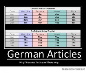 German is a hard language to learn