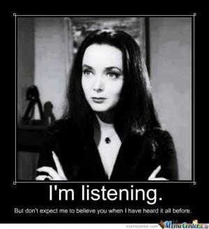Morticia.....Addams Family