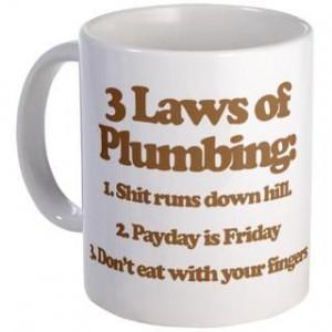 Funny Plumber Coffee Mugs Funny Plumber Travel Mugs